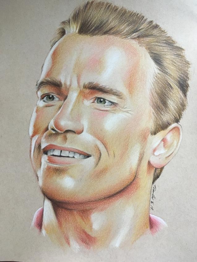 Arnold Schwarzenegger par TraceyLawler